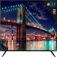 "Refurbished TCL 55"" Class 4K UHD (2160p) Dolby Vision HDR Roku Smart TV (55R615)"