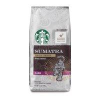 Starbucks Sumatra Dark Roast Ground Coffee, 12-Ounce Bag