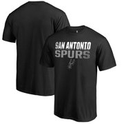 41b3929b3 San Antonio Spurs Fanatics Branded Fade Out T-Shirt - Black