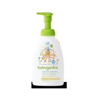 Babyganics Extra Gentle Shampoo + Body Wash Chamomile Verbena, 16.0 FL OZ