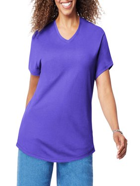 2f34a200aa Product Image Women s Plus Size Short Sleeve V-Neck T Shirt