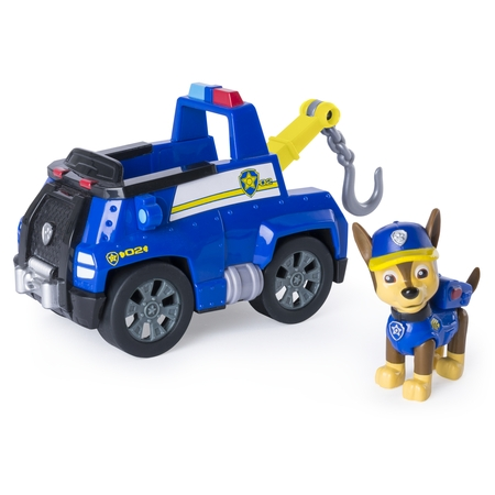 Paw Patrol - Chase's Tow Truck - Figure and - Paw Patrol Accessories