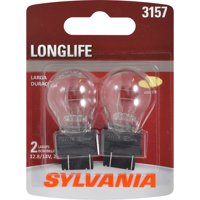 SYLVANIA 3157 Long Life Mini Bulb, Pack of 2