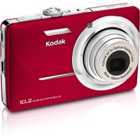 """Kodak EasyShare M340 Red 10.2 MP Digital Camera with 3x Optical Zoom, 2.7"""" LCD"""
