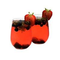 Libbey 17-oz. Stemless White Wine Glasses, Set of 8