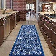 Diagona Designs Contemporary Oriental Mahal Design Non Slip Runner Area Rug 31 W