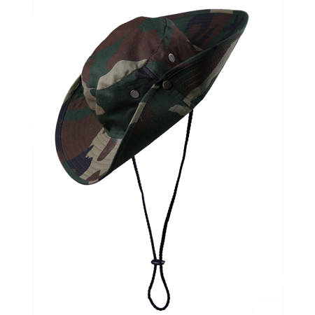 Men's Bucket Hat Side Snap Boonie Hat Outdoor UV Sun Protection Fishing Cap](Bucket Hat Wholesale)