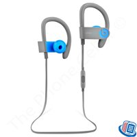 Refurbished Beats by Dr. Dre Powerbeats 3 Wireless Active Blue Bluetooth Ear-Hook Headphones