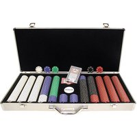 Trademark Poker 650pc 11.5g Suited Chips with Aluminum Case