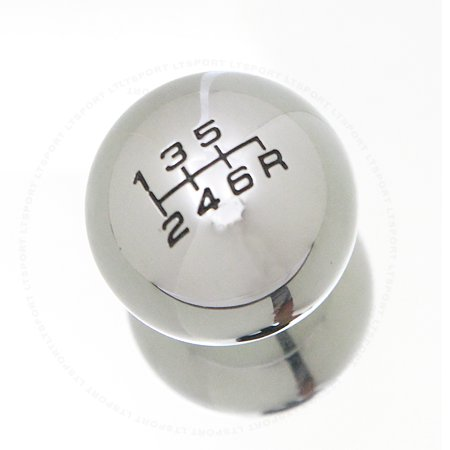 Fit Nissan Shift Knob Manual Gear Transmission Stick Shifter Silver Round For 200SX 240SX 300ZX 350Z 370Z Altima Altra E