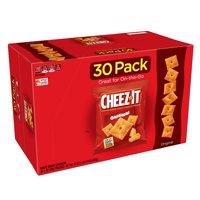 Cheez-It Baked Original Snack Crackers, 1 Oz., 30 Count