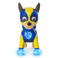 PAW Patrol - Mighty Pups Chase Figure with Light-up Badge and Paws, for Ages 3 and Up, Wal-Mart Exclusive