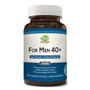 For Men 40 Plus - Extra Strength Saw Palmetto Supplement & Prostate Health - Prostate Support