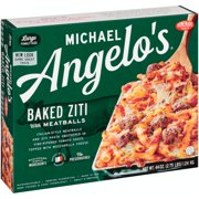 Michael Angelo's® Baked Ziti with Meatballs 44 oz. Box