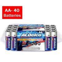 ACDelco Super Alkaline AA Batteries, 40 Count