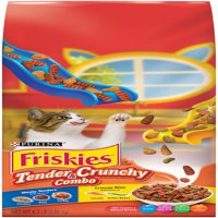 Friskies Tender & Crunchy Combo Adult Dry Cat Food, 6.3 lb