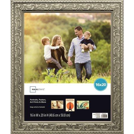 Mainstays 16x20 Silver Poster Frame Walmartcom