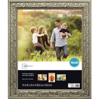 Mainstays 16x20 Silver Poster Frame