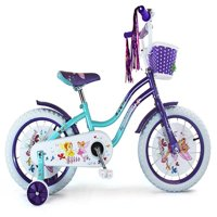 "Micargi Ellie 16"" Girls Cruiser Bike Baby Blue/Purple"