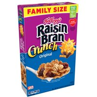 Kellogg's Raisin Bran Crunch Breakfast Cereal, 24.8 Oz