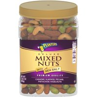 Planters Deluxe Mixed Nuts with Sea Salt, 34 oz Jar