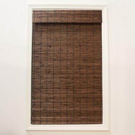 Design View Bamboo Shades (Radiance Cordless Dockside Flatstick Bamboo Roman Shade )