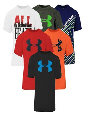 Under Armour Boys' Short Sleeve T-Shirt 3-Pack L