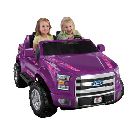 Power Wheels Ford F150 Purple Camo Ride On Vehicle Walmart Com