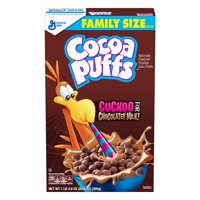 (2 Pack) Cocoa Puffs Chocolate Cereal, 20.9 oz