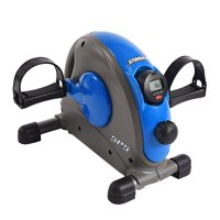 Stamina Compact Adjustable Mini Exercise Bike with Smooth Pedal System, Blue
