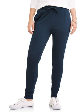 Women's Athleisure Super Soft Contrast Trim Jogger Pants