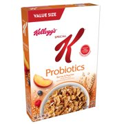 (2 Pack) Kellogg's Special K Nourish Cereal, Berries & Peaches, 15.5 Oz