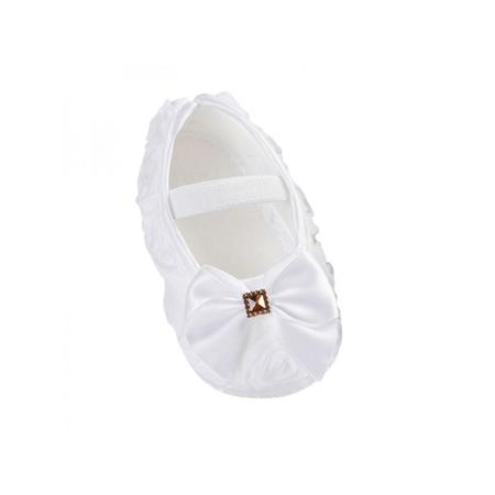 White Dress Shoes Toddler Girl (Nicesee Newborn Infant Baby Girl Bowknot Soft Sole Crib Shoes Prewalker 0-18)