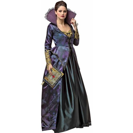 Once Upon A Time Evil Queen Women's Adult Halloween Costume - Queen Costumes For Women