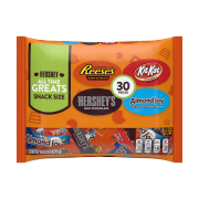 Hershey's All Time Greats Chocolate Candy Variety Pack, 15.9 Oz., 30 Count