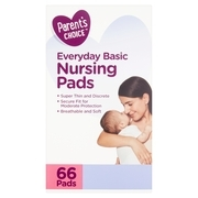 Parent's Choice Basic Nursing Pads, 66 Count