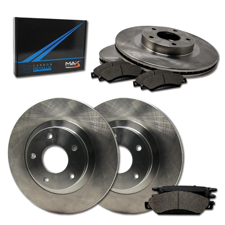 Rear Carbon Metallic Performance Disc Brake Pads TA178453 Max Brakes Front Fits 2011-2015 honda crz
