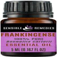 Sensible Remedies Frankincense 100% Therapeutic Grade Essential Oil, 5 mL (0.167 fl oz)
