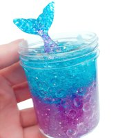 DZT1968 120ml Mermaid Mud Mixing Cloud Slime Putty Scented Stress Kids Clay Toy