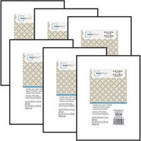 Mainstays 6x8 matted to 4x6 Format Picture Frame, Set of 6
