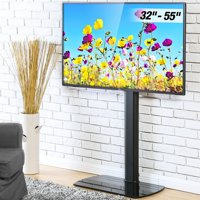 FITUEYES Floor TV Stand with Swivel Mount for 32 to 55 inch TVs Height Adjustable