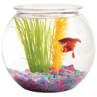 Hawkeye 1-Gallon Bubble-Shaped Fish Bowl