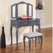 Awe Inspiring Poundex Vanities Vanity Stools Gamerscity Chair Design For Home Gamerscityorg