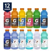 Gatorade Thirst Quencher Variety Pack, 20 oz Bottles, 12 Count Sampler