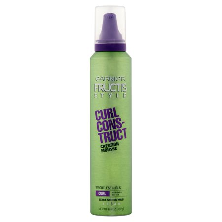 (2 Pack) Garnier Fructis Style Curl Construct Creation Mousse 6.8 -