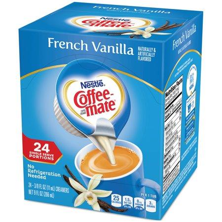 (3 Pack) COFFEE-MATE French Vanilla Liquid Coffee Creamer 24 ct (Champagne Creamer)