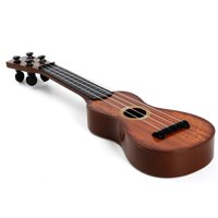 Outgeek 15inch String Fruit Pattern Mini Guitar Ukulele Kids Educational Toy Musical Instrument Christmas Thanksgiving Gifts for Children Teens