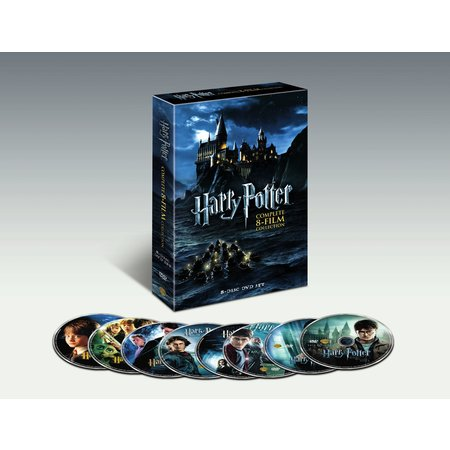 Harry Potter: The Complete 8-Film Collection (DVD) - Halloween Complete Collection Dvd