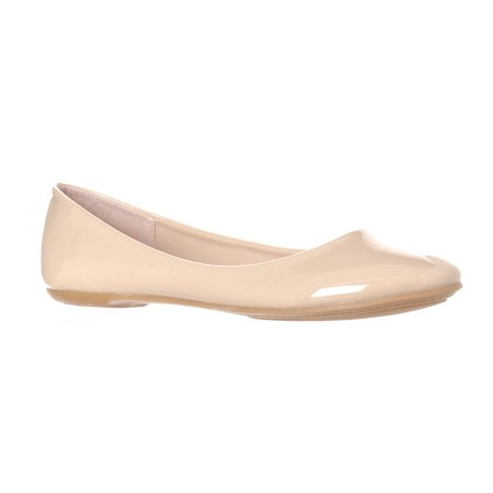 Riverberry Women's Aria Basic Closed Round Toe Ballet Flat Slip On Shoe ()