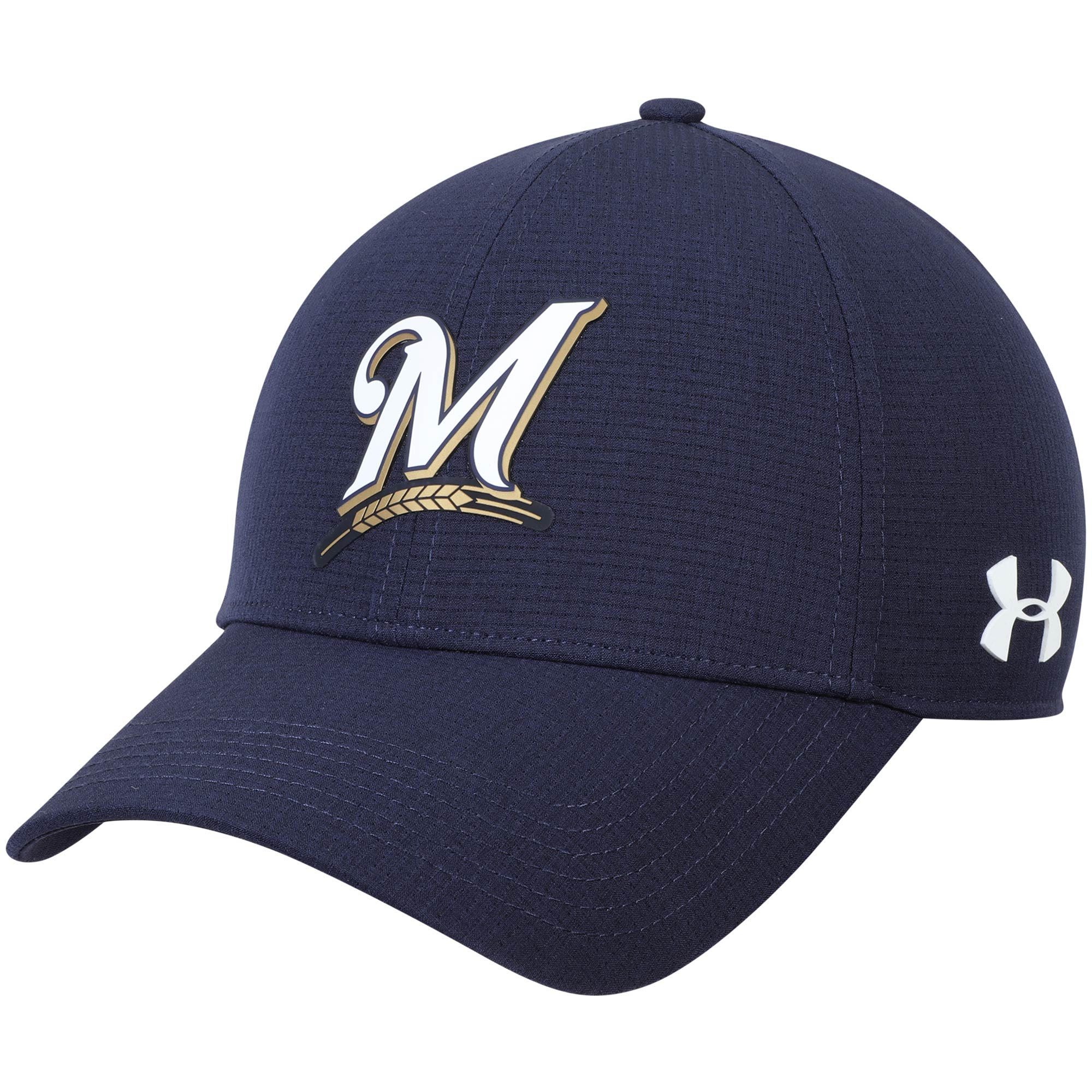 b88926685a4 ... sweden milwaukee brewers under armour mlb driver cap 2.0 adjustable hat  navy osfa a4c65 77c51